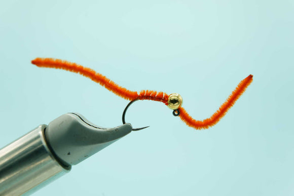 Jig San Juan Worm FL Fire Orange #10