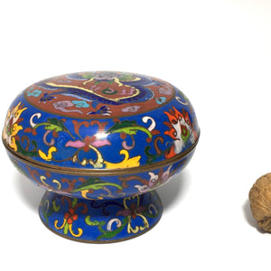 Caja de cloisonné china - 2d2.net