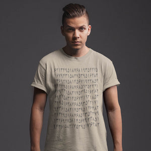Numerical T-shirt