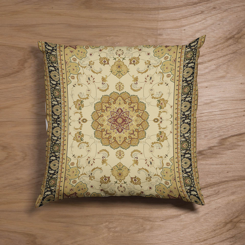 Golden Carpet Pillow