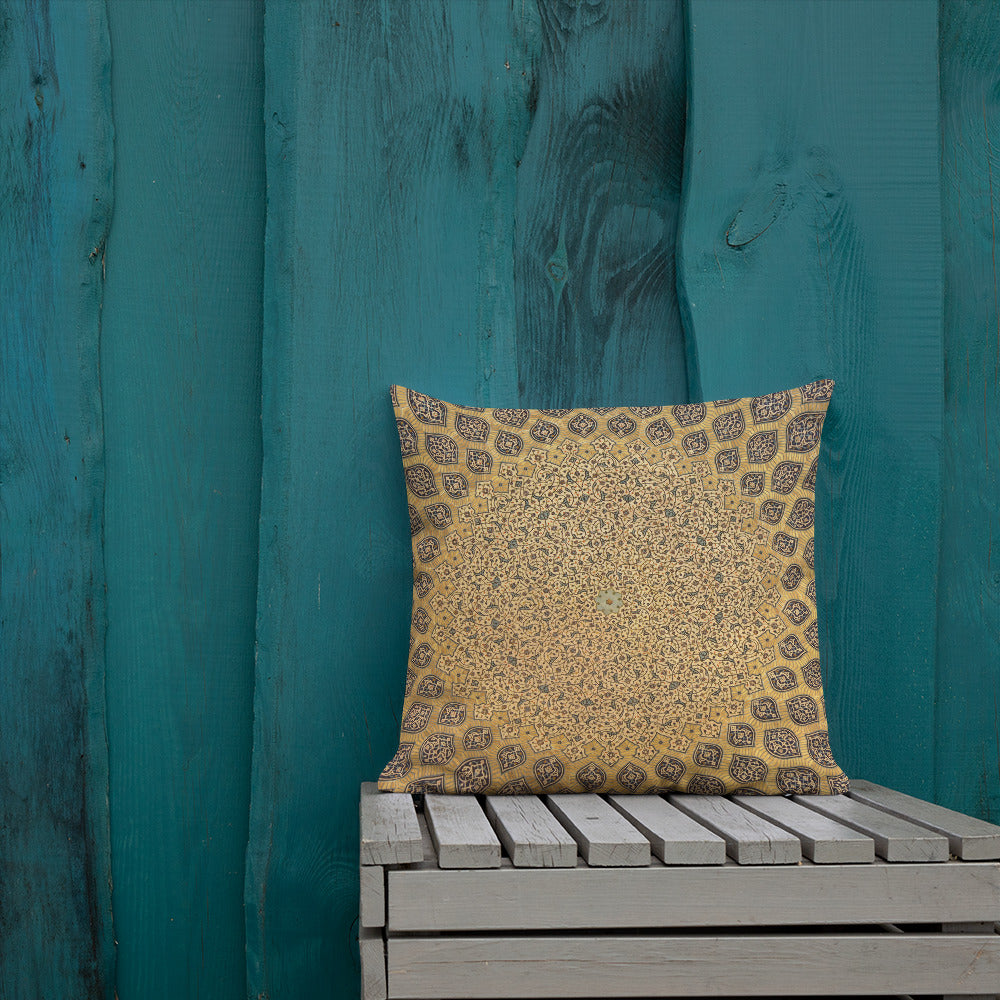 Roof Tile Pillow