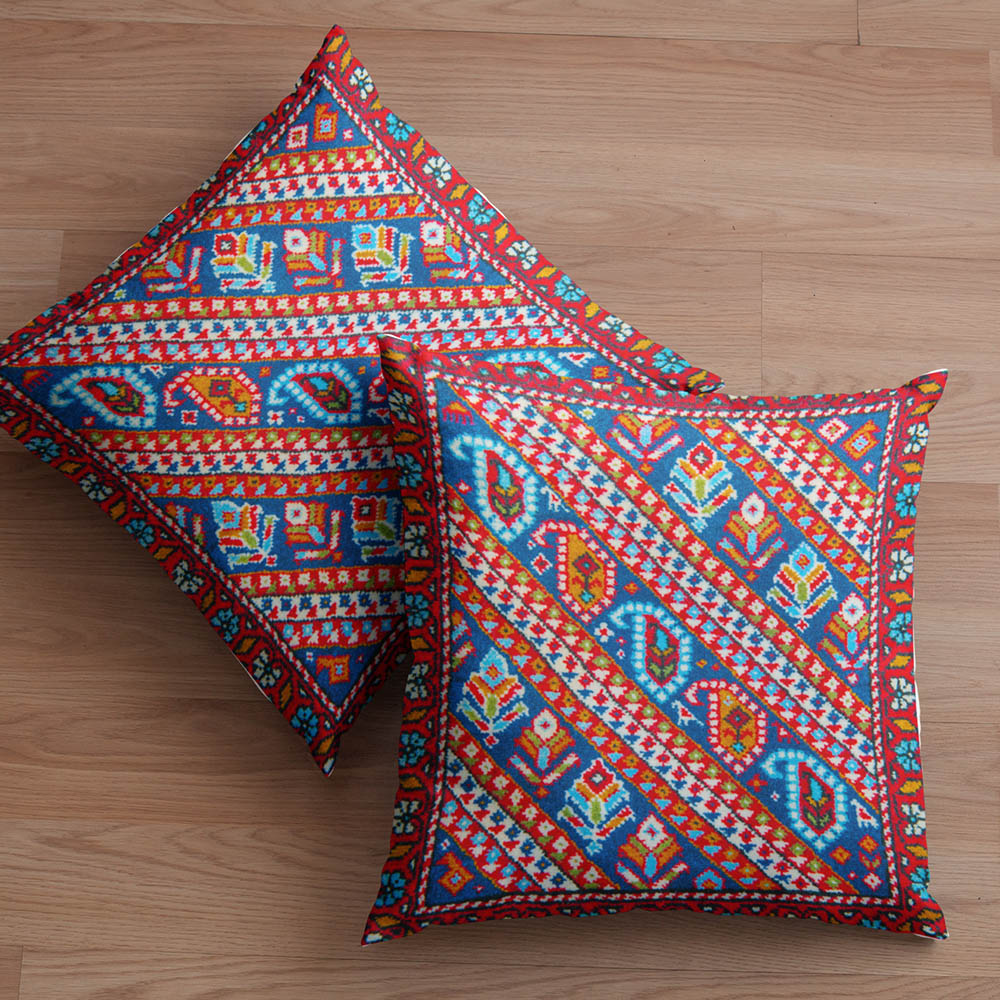 Red Rug Pillow