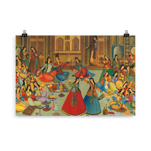 Day of Love Celebration Miniature Poster