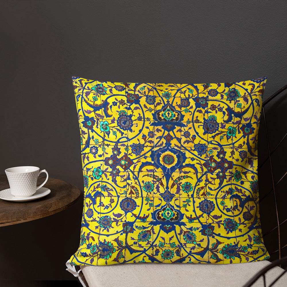 Oriental Tile Pillow