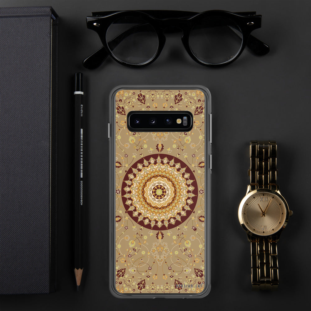 Golden Rug Samsung Case