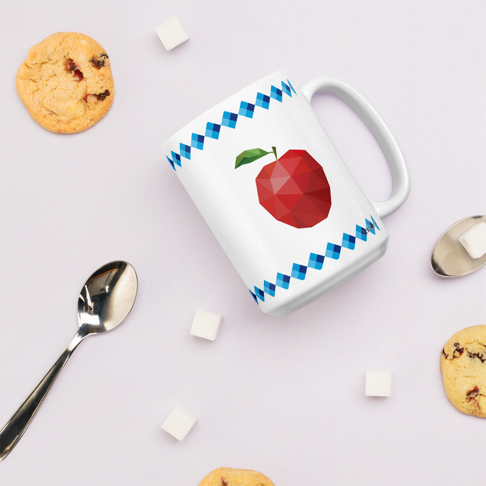 Apple and Fish Mug