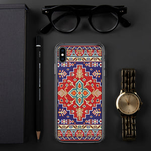 Old Mosaic Rug iPhone Case