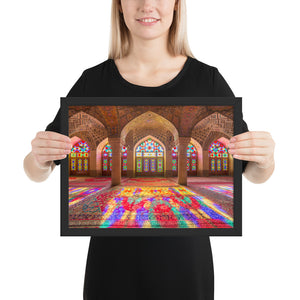 Nasir al-Mulk Mosque Photo 02 Framed Museum Quality Printed Poster