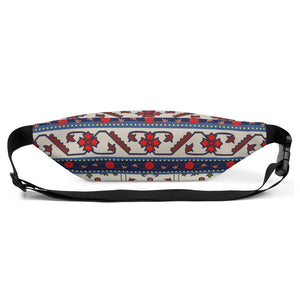 Milky Floral Fanny Pack