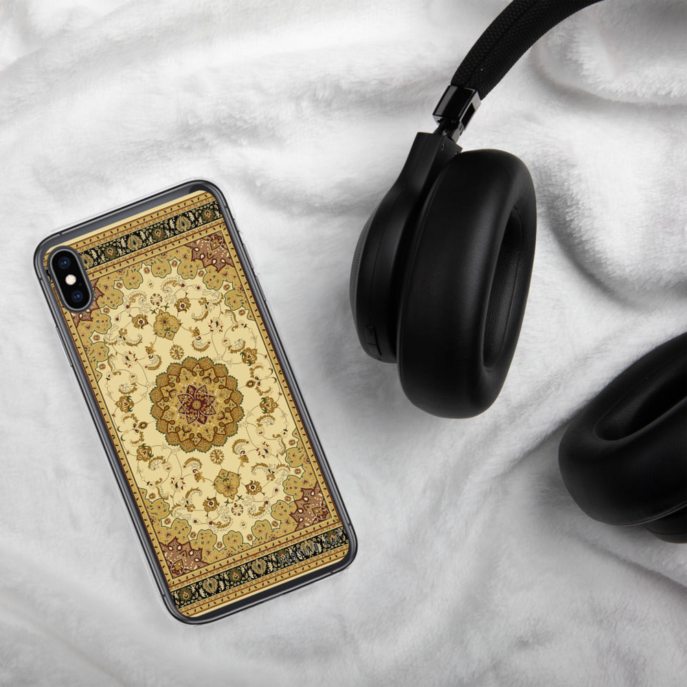 Golden Carpet iPhone Case