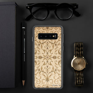 Light Gold Rug Samsung Case