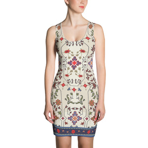 Milky Floral Dress