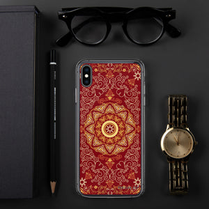 Red Rug iPhone Case