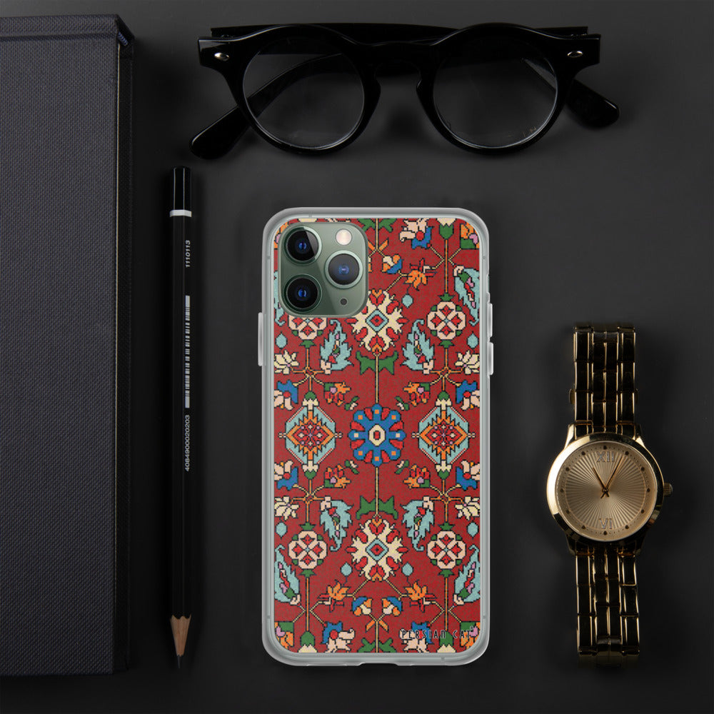 Oriental Mosaic Rug iPhone Case
