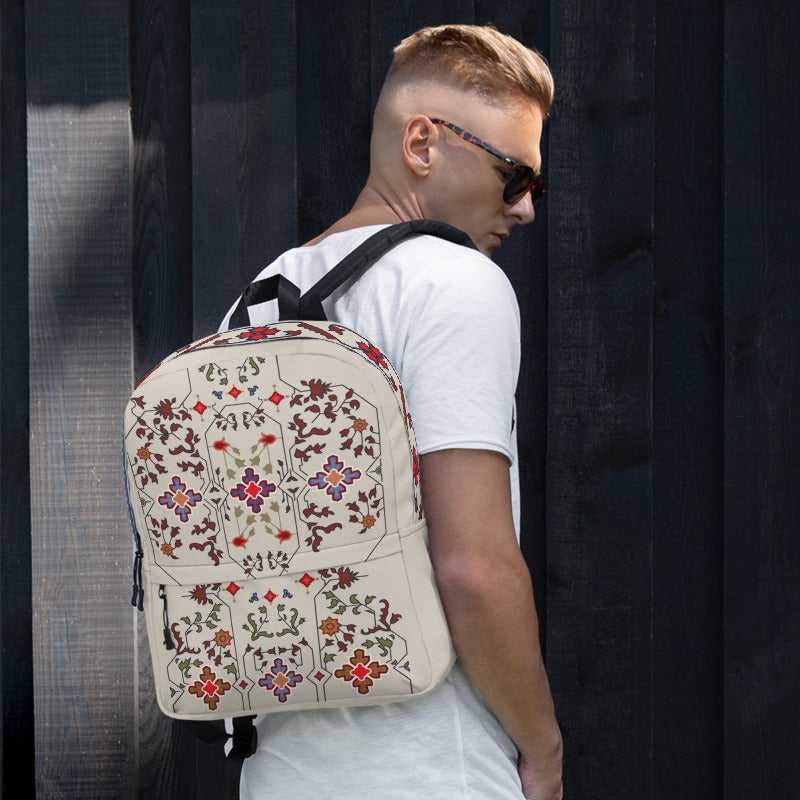 Milky Floral Backpack