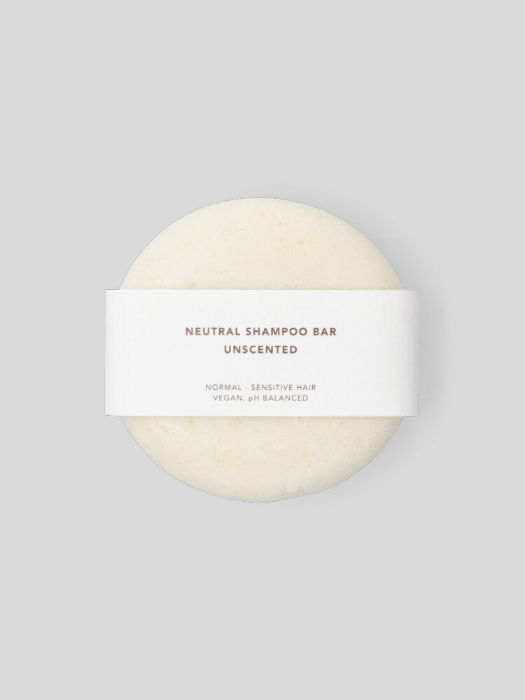 Neutral shampoo bar - unscented