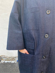 Charlie coat, denim