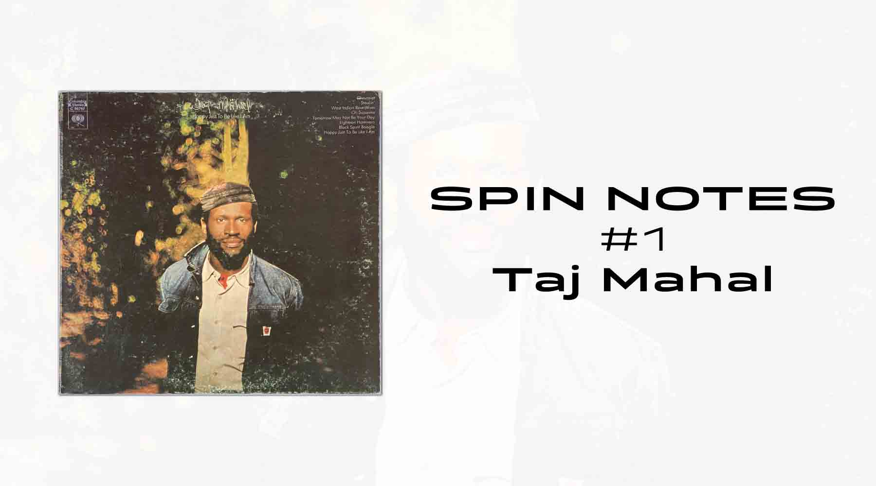 Spin Notes #1 - Taj Mahal