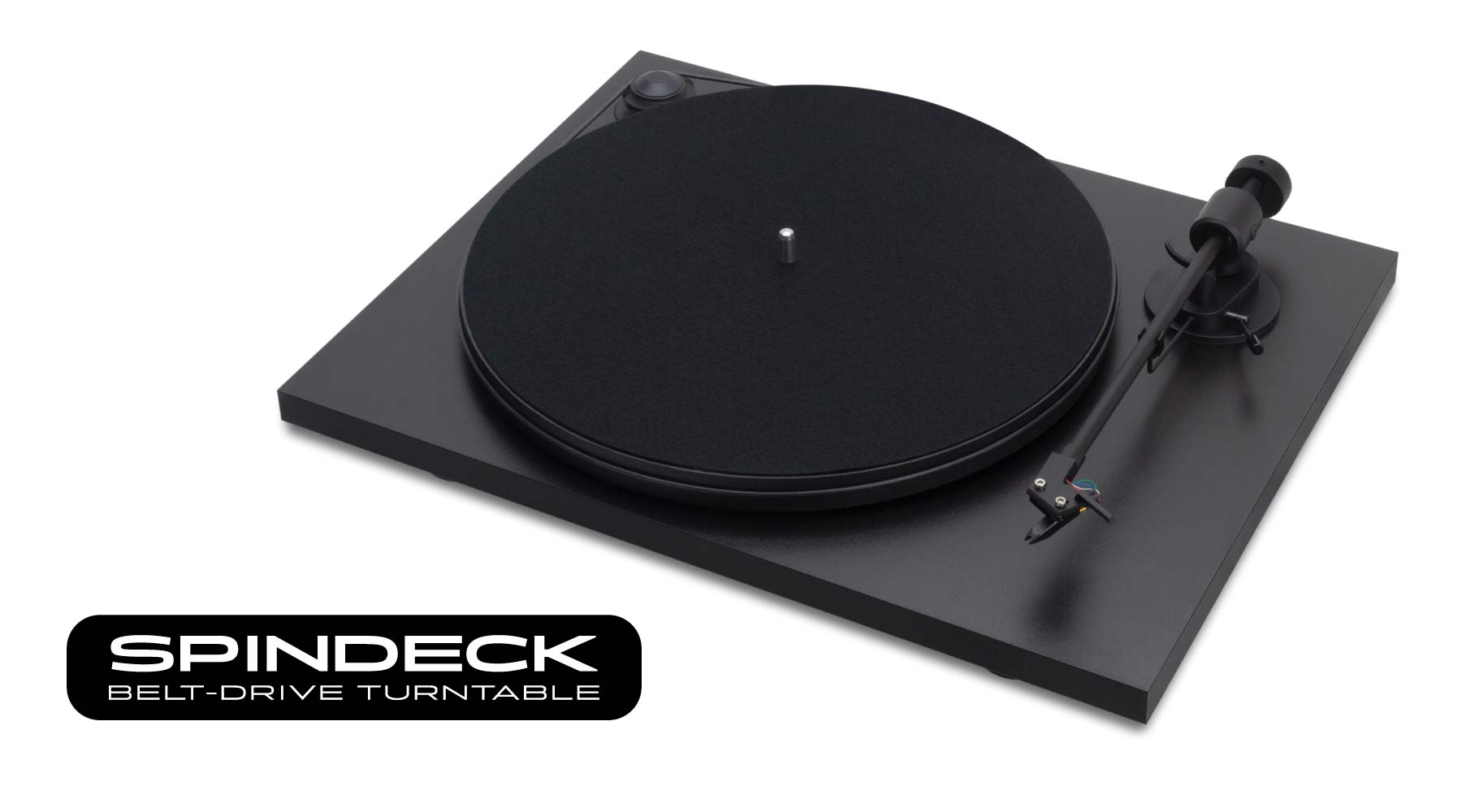 Spindeck Belt-Drive Turntable by Andover