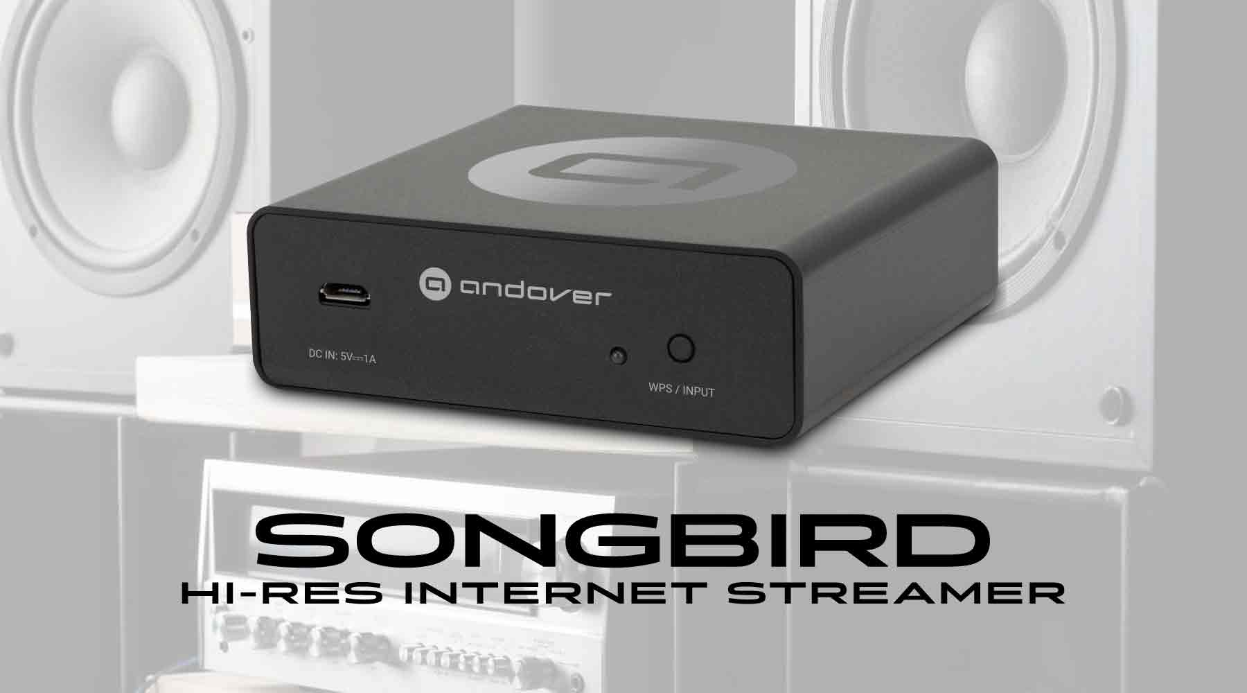 New Product: Songbird Hi-Res Streamer
