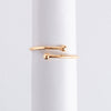 Letter Ring Anchor oro