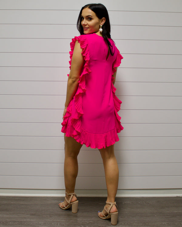 Barbie Pink Ruffle Dress