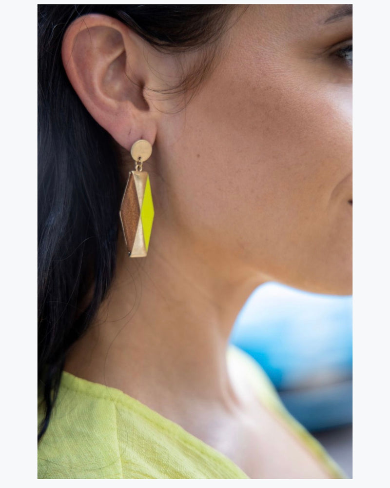 Retro Neon Earrings