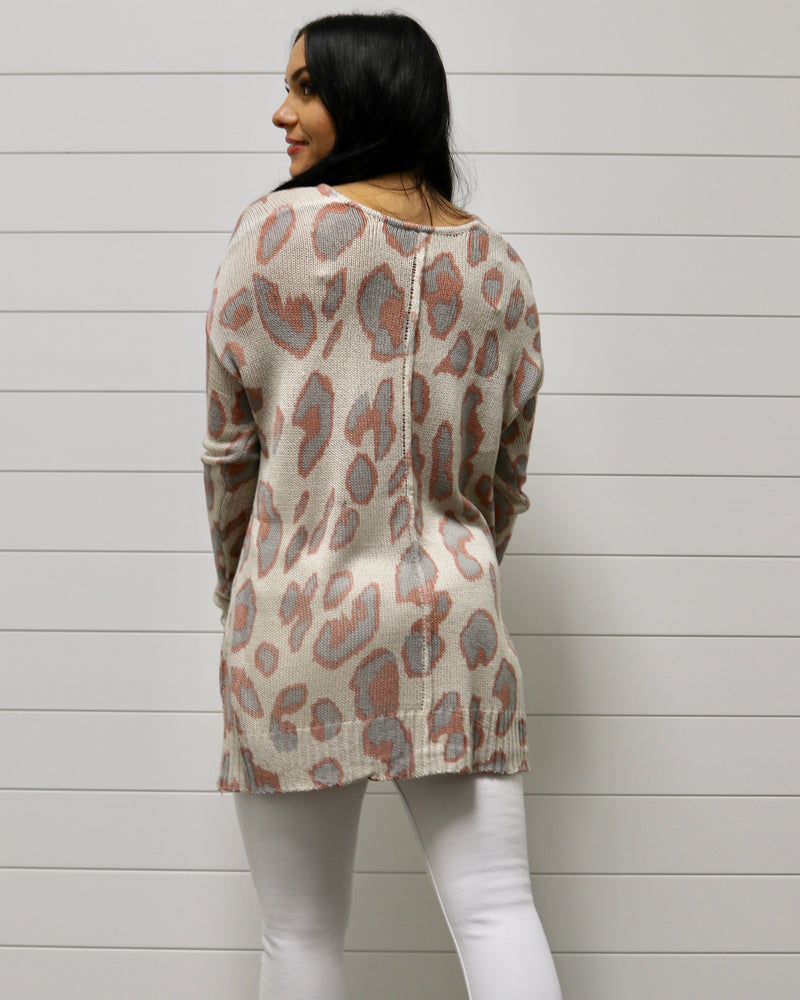 Cool Breeze Leopard Sweater