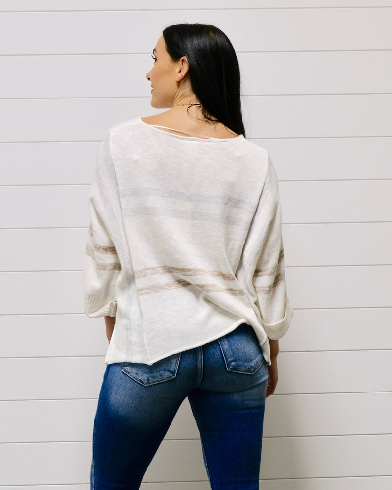 Blissful Stripe Sweater