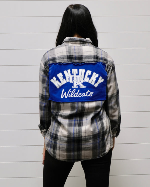 UK Vintage Flannel Top