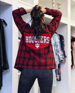 IU Vintage Flannel Top
