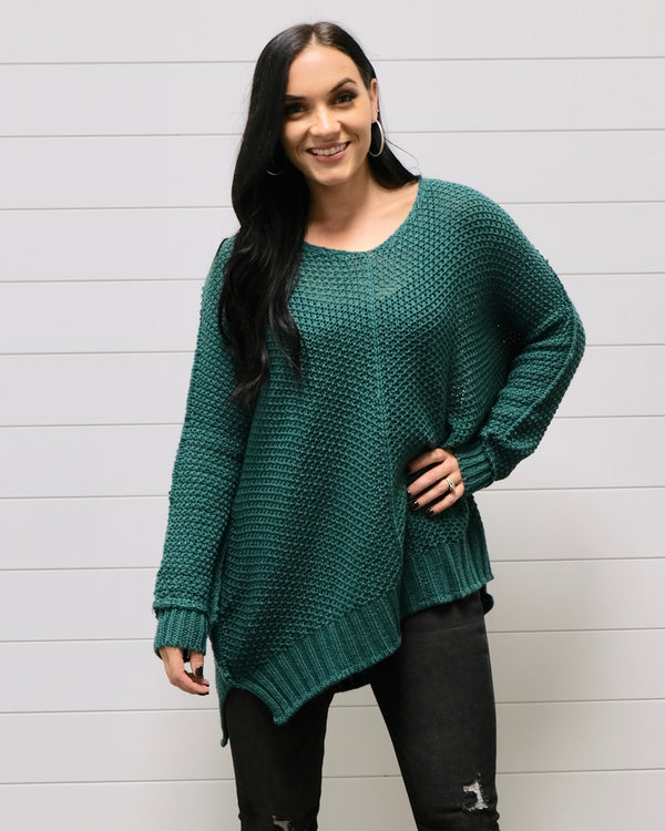 Emerald Knit Sweater