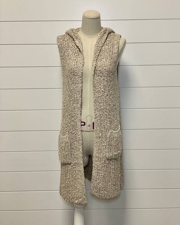 Willow Hooded Sweater Vest
