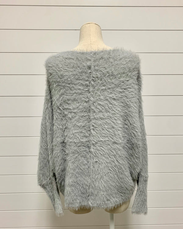 Eyelash Fur Sweater