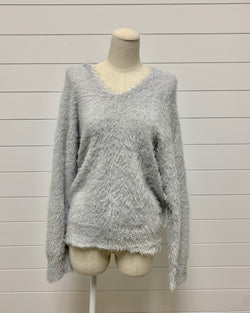 Double V Neck Sweater