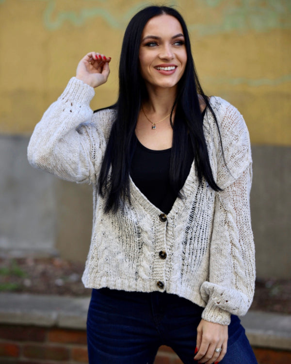 Madeline Button Cardigan