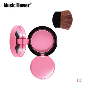 Face Blusher With Brush