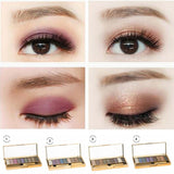 9 Colors Diamond Bright Makeup Eyeshadow Palette With Brush