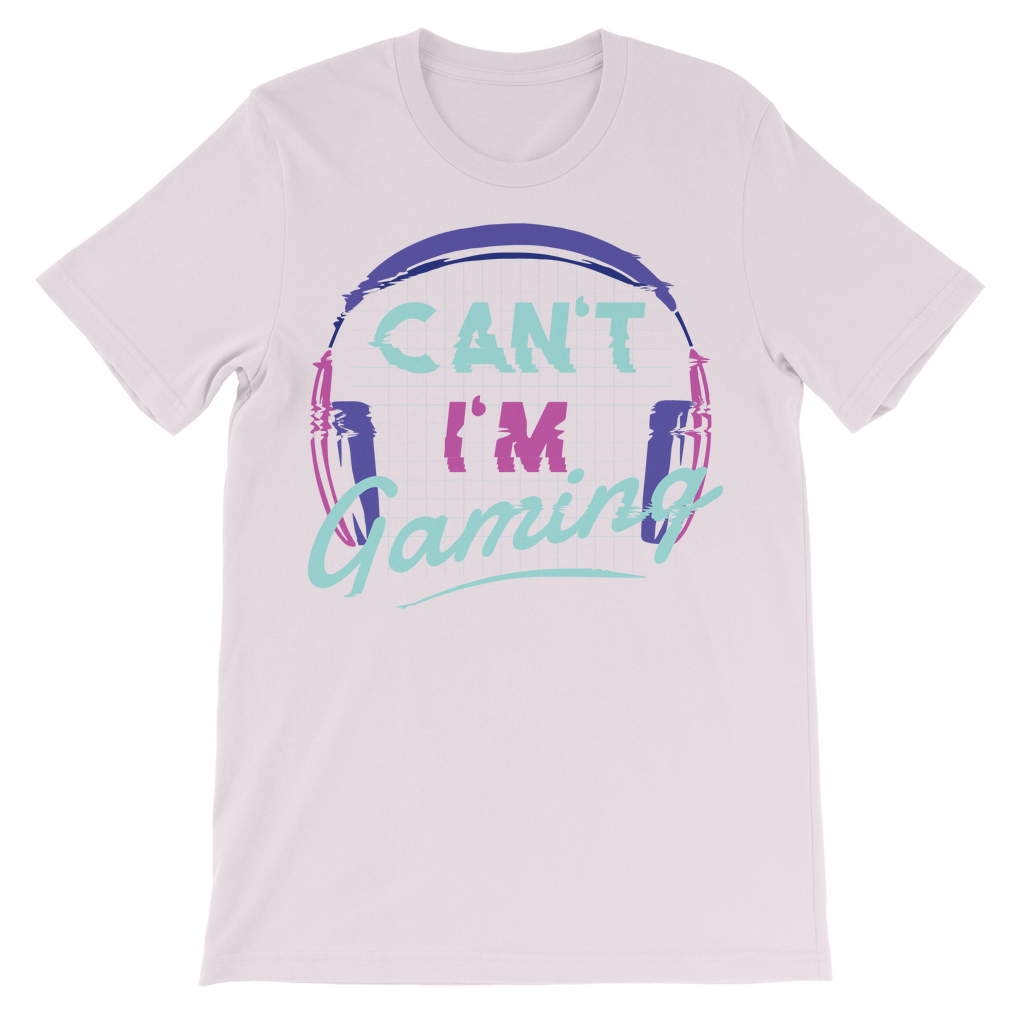 CAN'T I'M GAMING T-SHIRT KIDS