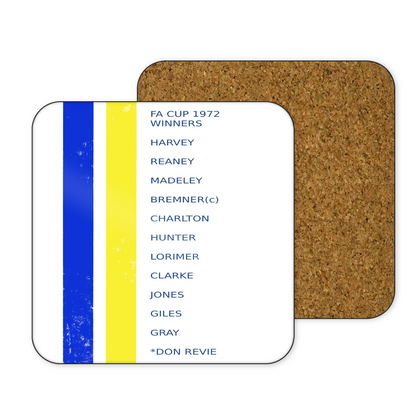 LEEDS COASTER 1979 FA CUP WINNERS - TheRetroHut