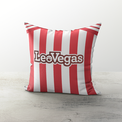 BRENTFORD INSPIRED CUSHION 2018 HOME - TheRetroHut