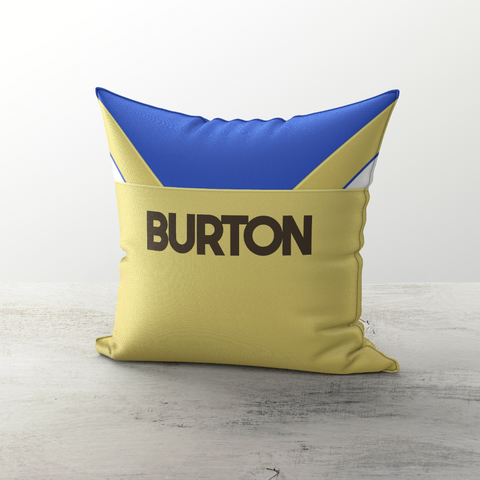 Leeds United 1986 Away Cushion - TheRetroHut