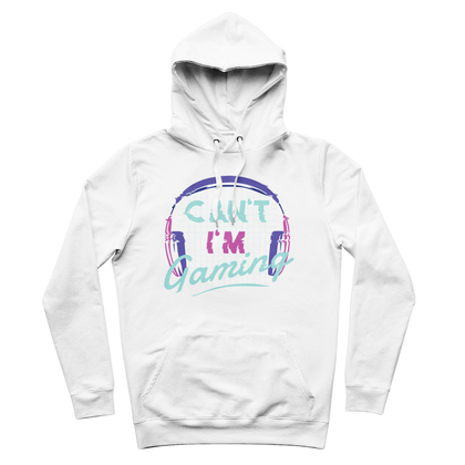 CAN'T I'M GAMING PREMIUM ADULT HOODIE