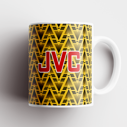 ARSENAL INSPIRED CERAMIC MUG 1991 AWAY - TheRetroHut