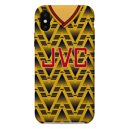 ARSENAL INSPIRED PHONE CASE 1991 AWAY - TheRetroHut