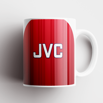 ARSENAL INSPIRED CERAMIC MUG 1992 HOME - TheRetroHut