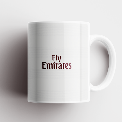 ARSENAL CERAMIC MUG 2007 AWAY - TheRetroHut