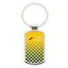 BEESTON JUNIORS OFFICIAL METAL KEYRING BLUE/YELLOW