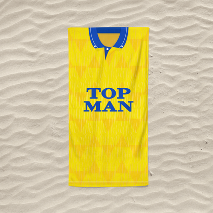 LEEDS BEACH TOWEL 1989 AWAY - TheRetroHut