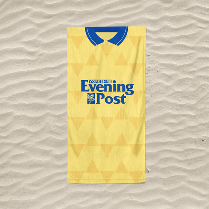 LEEDS BEACH TOWEL 1992 AWAY - TheRetroHut